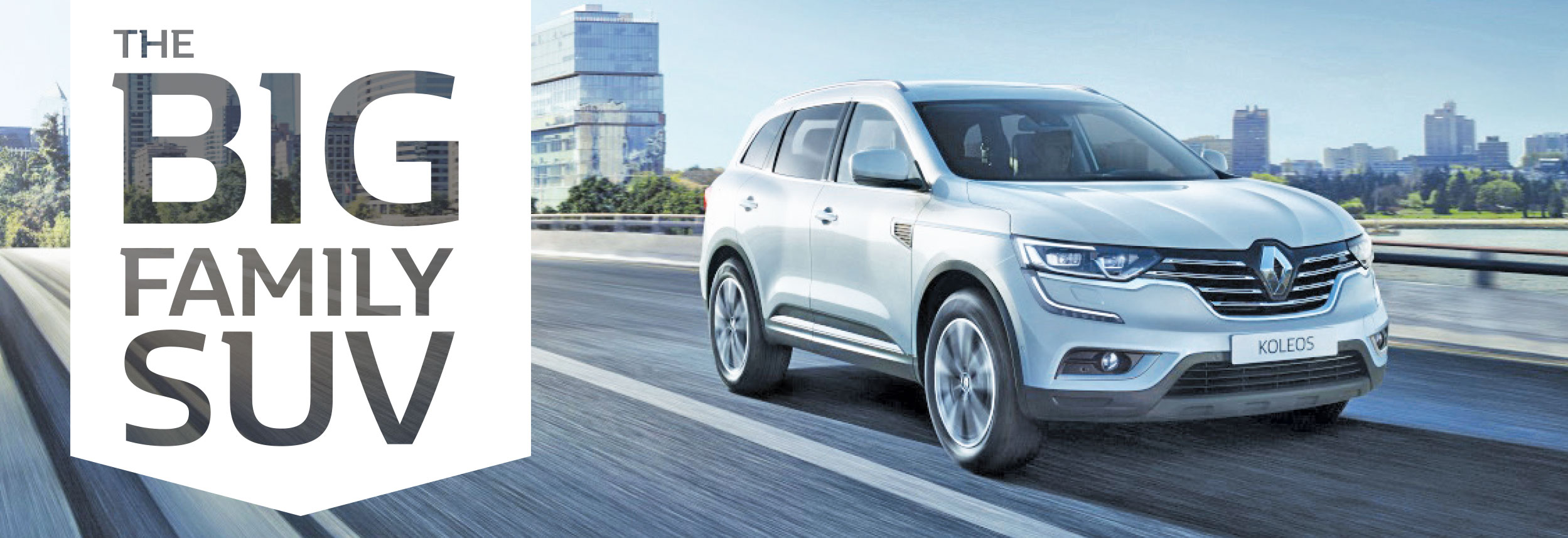Renault Koleos - Big Family SUV